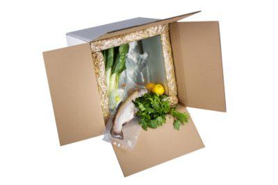 Landbox: la caja ecológica para la entrega de alimentos frescos a domicilio