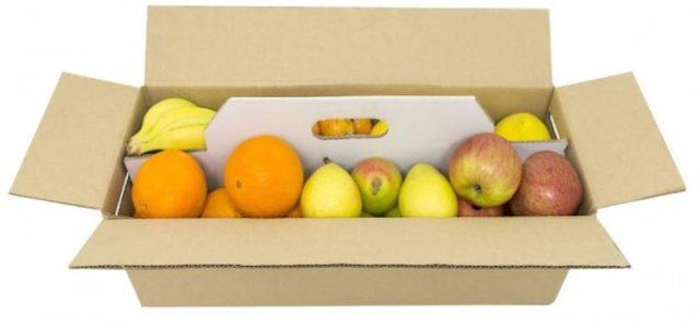 El cartón corrugado mantiene la fruta fresca y segura por varios días